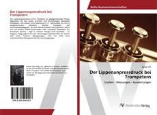 Capa do livro de Der Lippenanpressdruck bei Trompetern