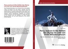 Percy Jackson & Die Helden des Olymp im Licht von Ovids Metamorphosen kitap kapağı