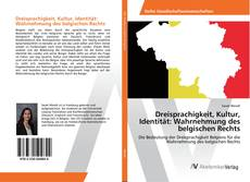 Обложка Dreisprachigkeit, Kultur, Identität: Wahrnehmung des belgischen Rechts
