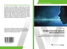 Обложка Single-Channel Speech Dereverberation