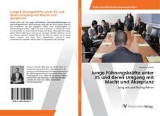Bookcover of Junge Führungskräfte unter 35 und deren Umgang mit Macht und Akzeptanz