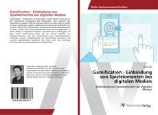 Buchcover von Gamification - Einbindung von Spielelementen bei digitalen Medien