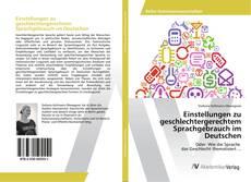 Buchcover von Einstellungen zu geschlechtergerechtem Sprachgebrauch im Deutschen