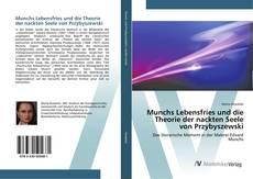 Capa do livro de Munchs Lebensfries und die Theorie der nackten Seele von Przybyszewski
