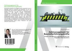 Capa do livro de Zeitmanagement für Baustellenführungskräfte