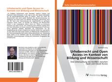 Buchcover von Urheberrecht und Open Access im Kontext von Bildung und Wissenschaft