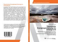 Buchcover von Thermische Energiespeicherung im Untergrund