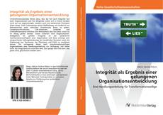 Buchcover von Integrität als Ergebnis einer gelungenen Organisationsentwicklung