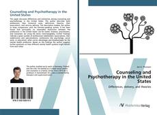 Portada del libro de Counseling and Psychotherapy in the United States