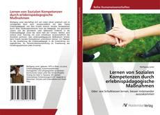 Обложка Lernen von Sozialen Kompetenzen durch erlebnispädagogische Maßnahmen