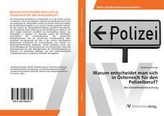 Buchcover von Warum entscheidet man sich in Österreich für den Polizeiberuf?