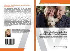 Buchcover von Klinische Sozialarbeit in geriatrischen Einrichtungen