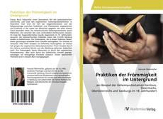 Praktiken der Frömmigkeit im Untergrund kitap kapağı