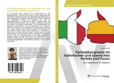 Copertina di Partizipkongruenz im italienischen und spanischen Perfekt und Passiv