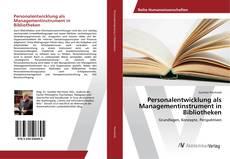 Buchcover von Personalentwicklung als Managementinstrument in Bibliotheken