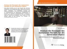 Bookcover of Analyse der Konzepte des stationären Handels für die Generation 50plus