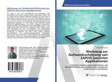 Buchcover von Werkzeug zur Aufwandsschätzung von SAPUI5 basierten Applikationen