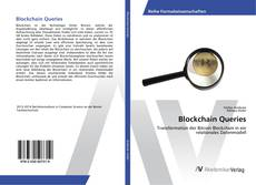 Capa do livro de Blockchain Queries