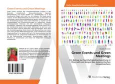 Buchcover von Green Events und Green Meetings