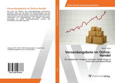 Capa do livro de Versandangebote im Online-Handel