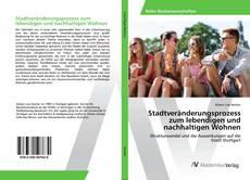 Buchcover von Stadtveränderungsprozess zum lebendigen und nachhaltigen Wohnen