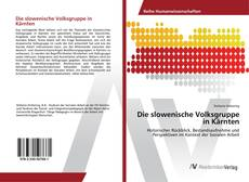 Обложка Die slowenische Volksgruppe in Kärnten