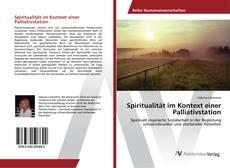 Buchcover von Spiritualität im Kontext einer Palliativstation