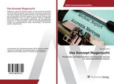 Buchcover von Das Konzept Magersucht