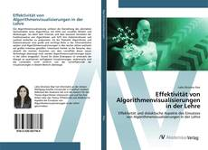 Portada del libro de Effektivität von Algorithmenvisualisierungen in der Lehre