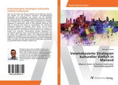 Bookcover of Vereinsbasierte Strategien kultureller Vielfalt in Mailand