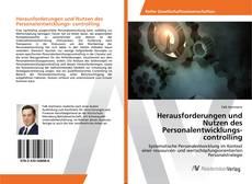 Buchcover von Herausforderungen und Nutzen des Personalentwicklungs- controlling
