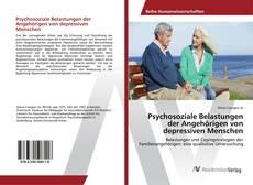 Psychosoziale Belastungen der Angehörigen von depressiven Menschen kitap kapağı