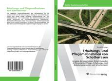 Bookcover of Erhaltungs- und Pflegemaßnahmen von Schotterrasen