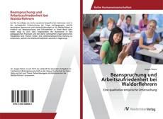 Buchcover von Beanspruchung und Arbeitszufriedenheit bei Waldorflehrern