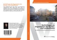 Buchcover von Rechtsfragen der Organisation der Bundes- und Landestheater