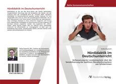 Обложка Hördidaktik im Deutschunterricht