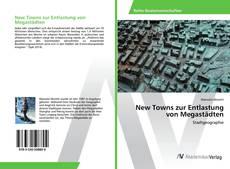 Bookcover of New Towns zur Entlastung von Megastädten