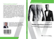 "Bookcover of ""Homo sportivus eroticus""?"