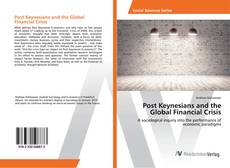 Buchcover von Post Keynesians and the Global Financial Crisis