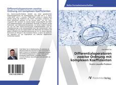 Buchcover von Differentialoperatoren zweiter Ordnung mit komplexen Koeffizienten