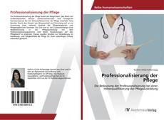 Buchcover von Professionalisierung der Pflege