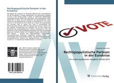 Buchcover von Rechtspopulistische Parteien in der Eurokrise