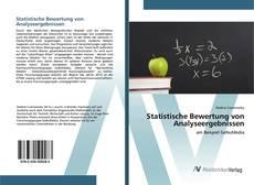 Couverture de Statistische Bewertung von Analyseergebnissen