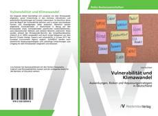 Buchcover von Vulnerabilität und Klimawandel