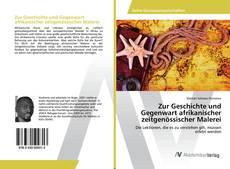 Portada del libro de Zur Geschichte und Gegenwart afrikanischer zeitgenössischer Malerei