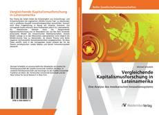 Vergleichende Kapitalismusforschung in Lateinamerika kitap kapağı