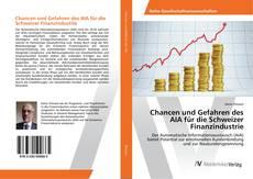 Buchcover von Chancen und Gefahren des AIA für die Schweizer Finanzindustrie