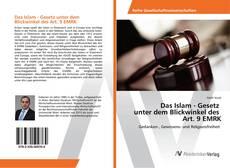 Bookcover of Das Islam - Gesetz unter dem Blickwinkel des Art. 9 EMRK