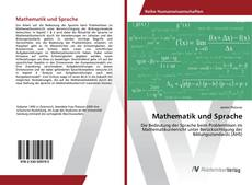 Portada del libro de Mathematik und Sprache