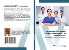 Обложка Implementierung der Pflegefachassistenz im Krankenhaus